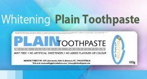 Plain Toothpaste Whitening