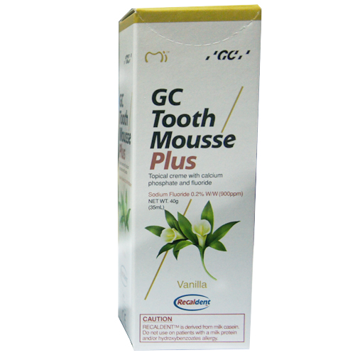 Vanilla GC Tooth Mousse Plus 35ml tube